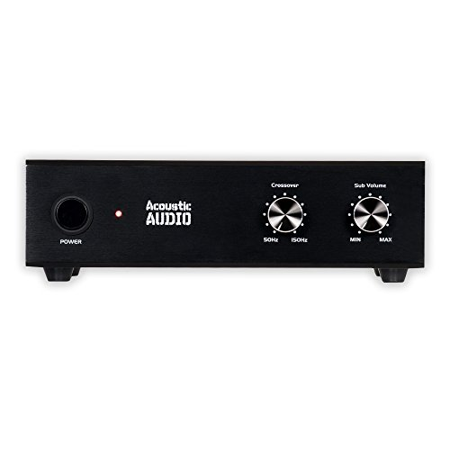 5 Passive Subwoofer Amp 200 Watt Amplifier for Home Theater ()