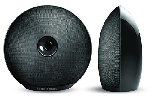 Sharper Image Sbt622bk 2 Bluetooth Speakers Rechargeable