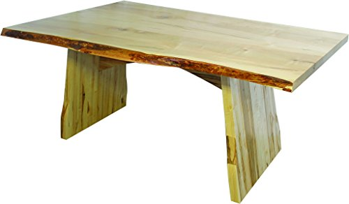Wormy Maple Dining Table with Lyndon Base - 6 ft. Length (Lyndon Furniture)