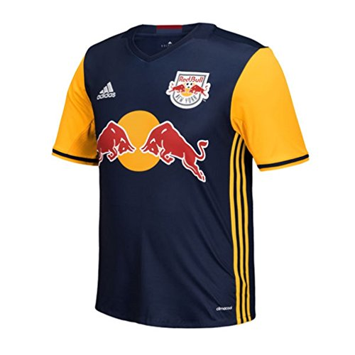 MLS New England Revolution Men's Replica Short Sleeve Jersey, Large, Navy by adidas
