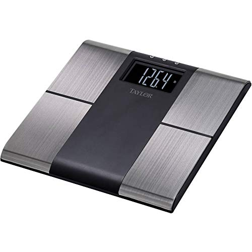 Taylor 5780F Stainless Steel BIA Scale: Bodyfat, Bodywater, Muscle Mass 578040733FW