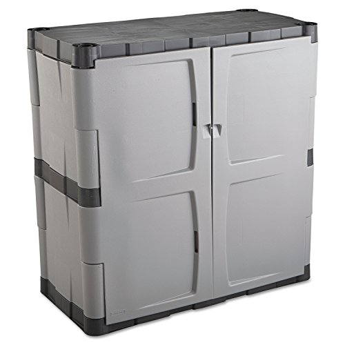 Black Wall Storage Cabinet - 2