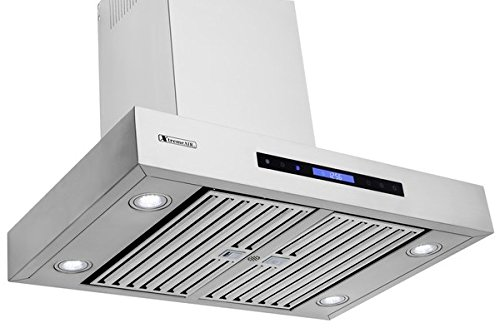 XtremeAir Pro-X Series PX06-W42, 42'' Wide, Easy Clean swing-able baffle Filters, Stainless Steel, Wall Mount Range Hood by XtremeAIR (Image #4)
