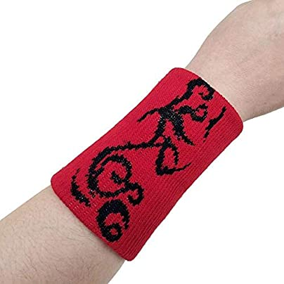 DHDHWL Wristbands 1Pc Sport Sweatband Hand Band Sweat Wrist Support Brace Wraps Guards For Gym Volleyball Basketball Sports C Estimated Price £11.90 -