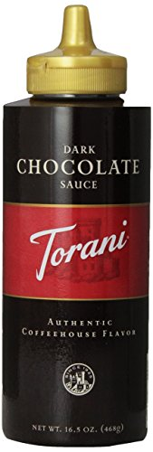 Torani Dark Chocolate Sauce, 16.5 Ounce (Pack of - Coffee Mocha Sauce