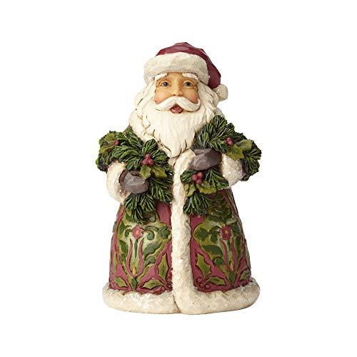Enesco Jim Shore Heartwood Creek Victorian Santa with Cane 5