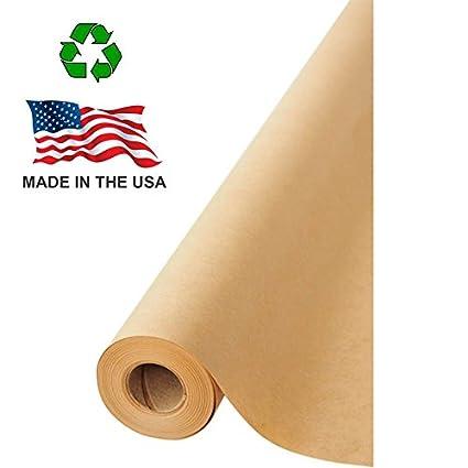 Amazon Made In Usa Brown Kraft Paper Jumbo Roll 1775 X 1200