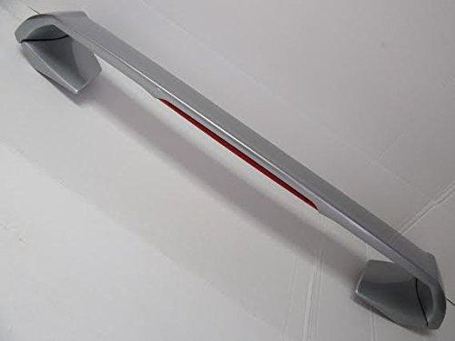 - 2005-2008 Kia Spectra OEM Accessory Rear Trunk Lid Wing Spoiler Metallic Silver