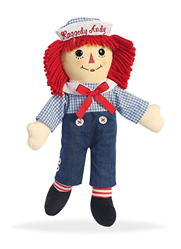 Aurora World Talking Raggedy Andy Plush (Andy Plush Doll)