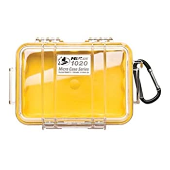 Pelican 1020 Micro-case (Yellow) 0