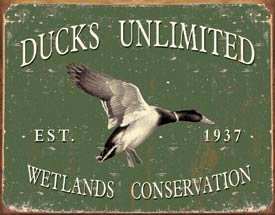 Ducks Unlimited - Since 1937 Metal Tin Sign 16