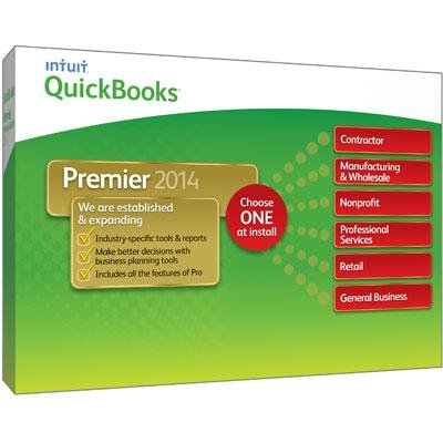 INTUIT 421357 / QB Premier Ind Ed 2014 1user by Intuit