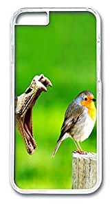 ACESR Bird And Snake Top iPhone Case PC Hard Case Back Cover for Apple iPhone 6 4.7inch