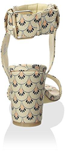 lupe robe de de Matisse femme coco pour sandale naturel Noix xSXIqq