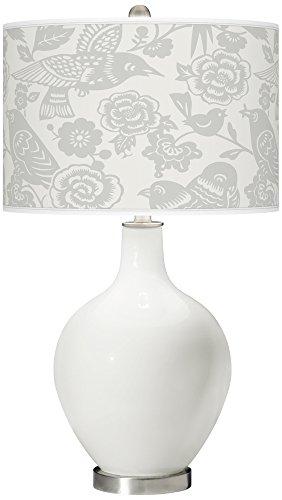 Winter Aviary - Winter White Aviary Ovo Table Lamp