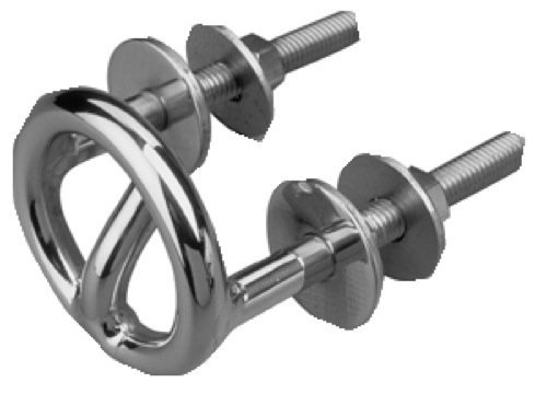 - Transom Mount Stainless Steel Ski Tow Tubing Hook Ring