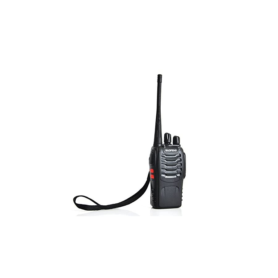 Baofeng BF 888S Two Way Radio (Pack of 10) and USB Programming Cable (1PC)