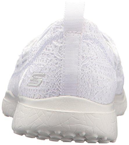 Skechers Kvinders Microsburst Blid Gaze Sneaker Hvid f4E3R