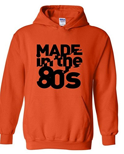Raxo Made In The 80's Hoodie. Soft and Comfortable in Six Colors. Sizes S to XXXL