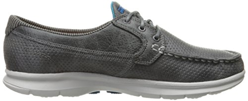 Step Charcoal Shoes Boat BKW Marina Skechers Women's GO AxfwqSaR