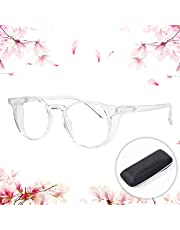Safety Glasses, Blue Light Blocking Eyeglasses Anti Pollen Safety Goggles, HD Clear Lenses for Eye Protection