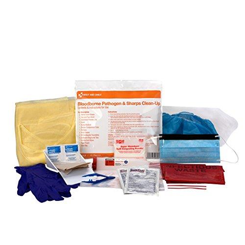 Only Sharp (First Aid Only Bloodborne Pathogen Spill & Sharps Clean Up Kit (90757))