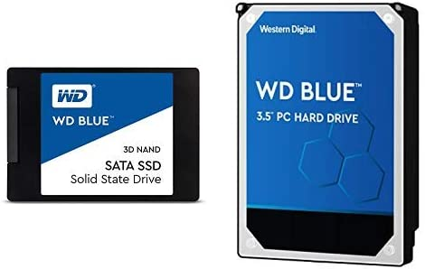 Amazon.com: WD Blue - Disco duro para PC (500 GB, 5400 rpm ...