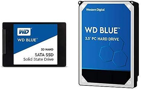Up to 560 MB//s WD Blue 3D NAND 4TB Internal PC SSD 2.5//7mm WDS400T2B0A SATA III 6 Gb//s