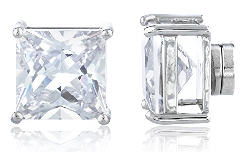 new-improved-silvertone-with-clear-cz-square-magnetic-stud-earrings-4mm-to-12mm-available-10-millime