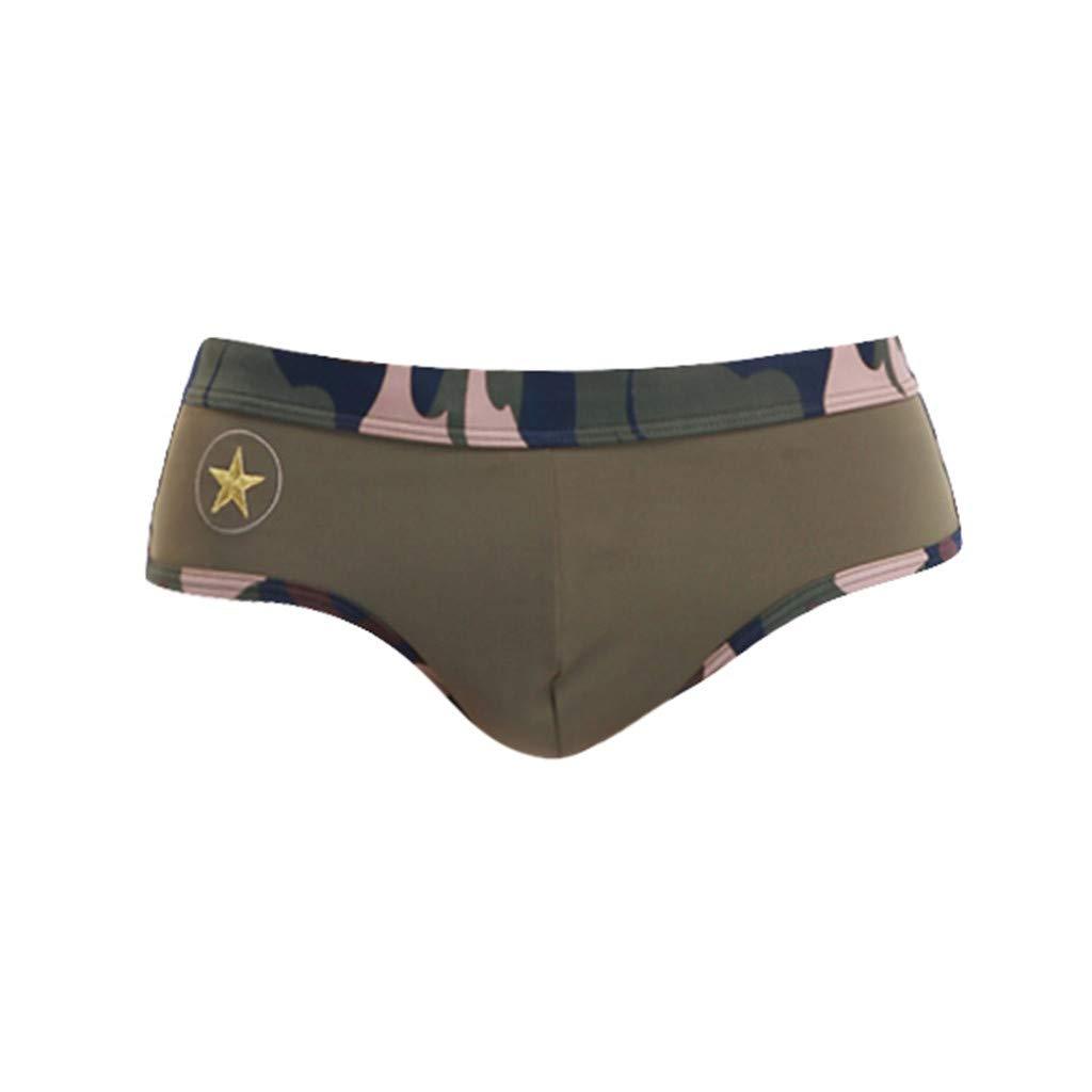 Sunyastor Beach Shorts Men, Summer Camo Swimwear Swimsuits Swim Boxer Trunks Surf Board Shorts Briefs Bikini Underwear by Sunyastor men pants (Image #2)