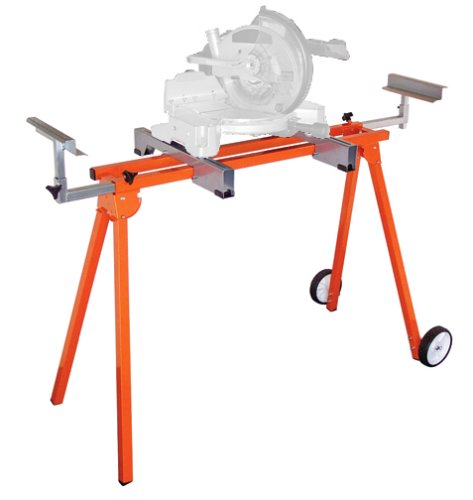 PortaMate PM3900 D.I.Y. Miter Saw Stand with 6-inch Wheels