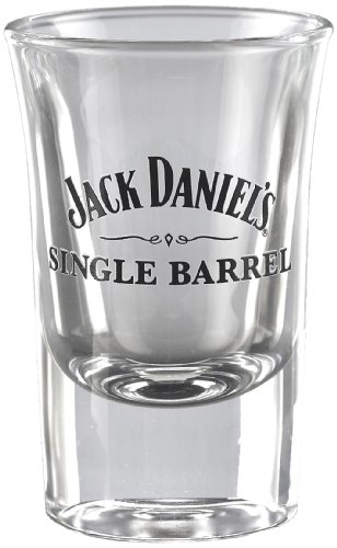 Jack Daniels Whiskey Barrels - Jack Daniel's Licensed Barware Single Barrel Shot Glass