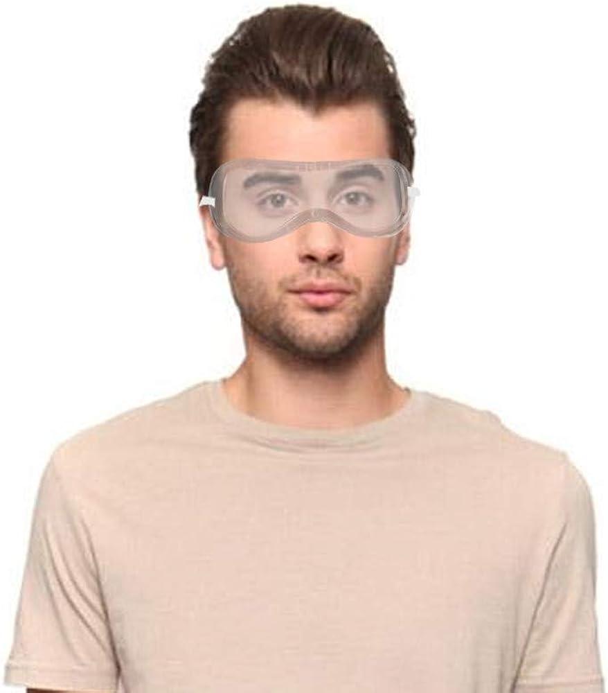 BaZhaHei Gafas de Seguridad ProteccióN de Los Ojos Polvo Antiniebla Antiniebla para Equipo de Trabajo Industrial Gafas Antipolvo para Equipo de Trabajo Industrial Gafas Antipolvo