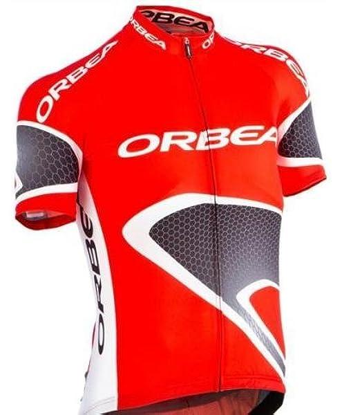 ORBEA M MOD.RMT1 - Camiseta (talla L), color negro y rojo: Amazon.es: Ropa y accesorios