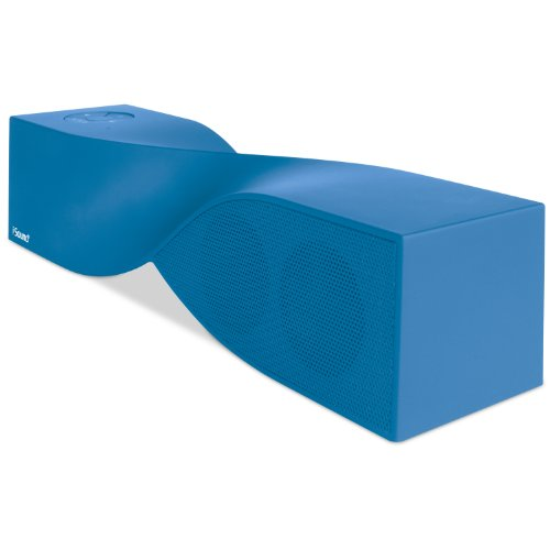 iSound Twist Bluetooth Wireless Mobile Speaker (Rubberized Blue) ()