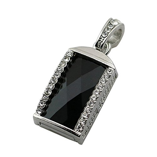 - 128GB Black Crystal Necklace Model PenDrive USB Flash Drive U Disk Pen Drive Memory Stick Flash Card USB Flash Disk USB Drive Thumb Drive