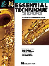 (Hal Leonard Essential Technique 2000 for Tenor Saxophone (Book 3 with CD))