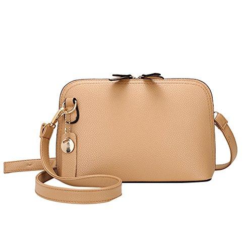 PU Sac Mode Messenger Femmes Kaki Fille Mini Sac d'épaule Cabina en cuir Crossbody à La Bag Bandoulière pg0xTnq