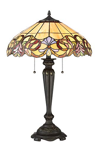 Quoizel Tf2802tib Two Light Table Lamp Small Imperial Bronze