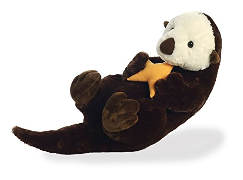 Aurora World Super Flopsie Animal Plush, Sea Otter ()