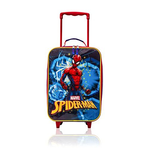 Spider-Man Trolley - Kids Soft Side Luggage Case 16 ()