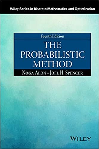 The probabilistic method wiley series in discrete mathematics and the probabilistic method wiley series in discrete mathematics and optimization 4th edition fandeluxe Choice Image