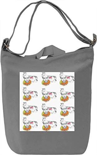 Bang Bang Clown Borsa Giornaliera Canvas Canvas Day Bag| 100% Premium Cotton Canvas| DTG Printing|