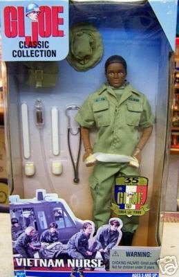 GI Joe Vietnam Nurse (Female African American Version) -