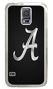 Samsung S5 designer case Letter A PC Transparent Custom Samsung Galaxy S5 Case Cover
