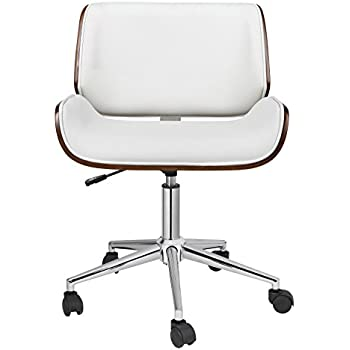 Amazoncom Porthos Home Kch019a Wht Dove Office Chairs In Mid