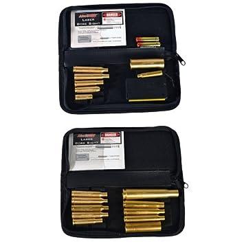 simmons laser boresighter. aimshot kt-master green laser bore sight master rifle kit, brass simmons boresighter
