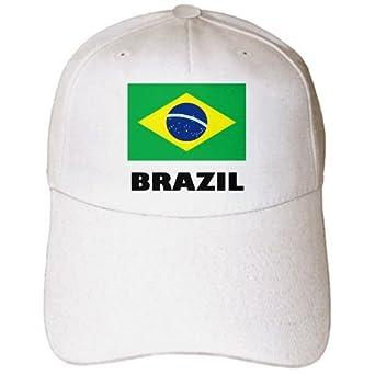 4505c24a133 Amazon.com  3dRose EvaDane - Signs - Brazil. Brazilian Flag. - Caps ...