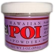 Hawaiian Poi Powder 3oz Jar - Made in Hawaii From Hawaian Taro by Zero Gravity Hawaii