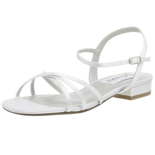 Dyeables Women's Palace Sandal,White,6.5 M